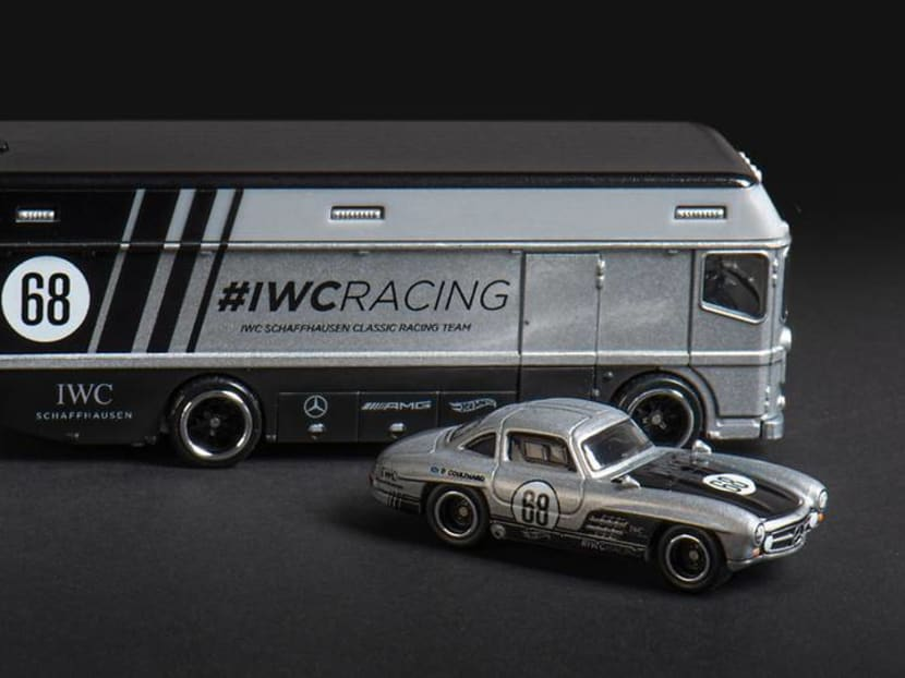 Boy's Toys: Why did watchmaker IWC release a Hot Wheels racing car set?