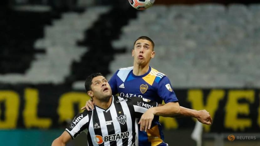 Soccer-Atletico Mineiro eliminates Boca as chaotic scenes sully Copa Libertadores