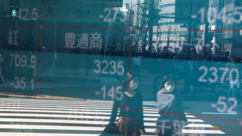Asian shares pause recent rally, euro near 2-1/2-year high