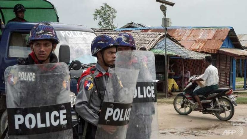 Myanmar officer's wife killed by pipe bomb in latest Rakhine violence