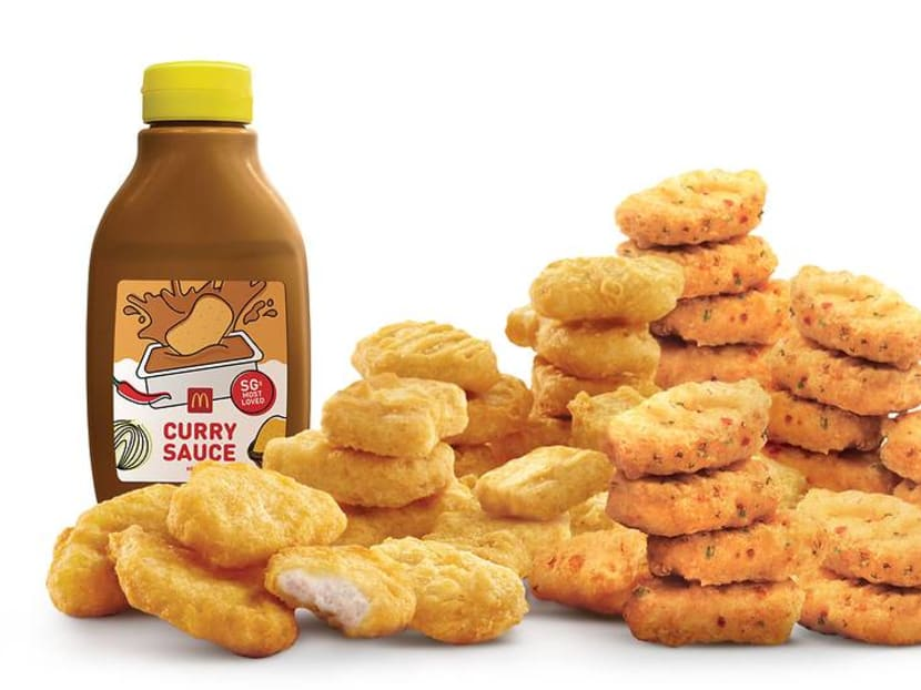 McDonald's brings back curry sauce bottle in Singapore