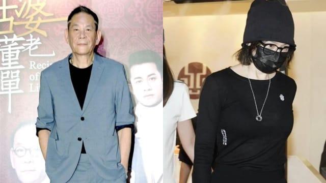 曾在电影中演父女 徐若瑄到龙劭华灵堂吊唁