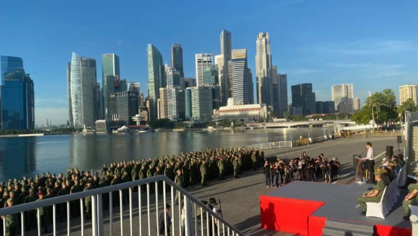 Nation has been put to the test with COVID-19, collective defence the strongest defence: Chan Chun Sing