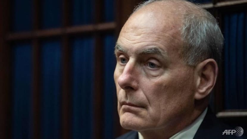 White House chief of staff John Kelly: Discipline and controversy