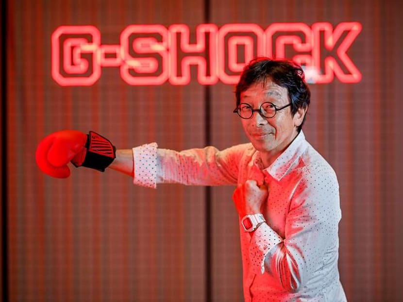 A watch that reads minds and hooks you up on dates? Why not, says G-Shock creator