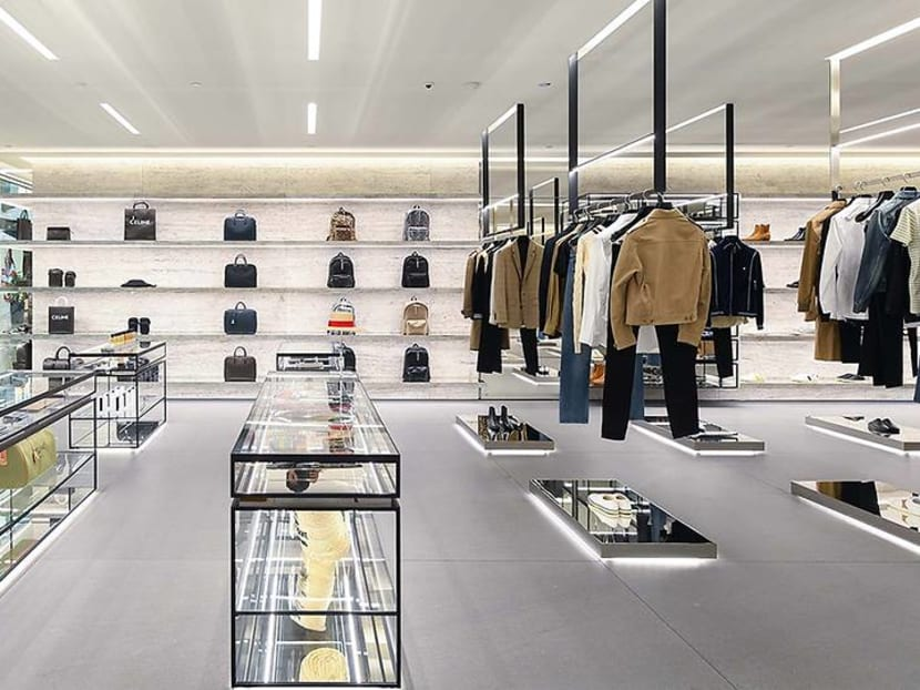 Celine's menswear collection finally hits Singapore at new MBS flagship