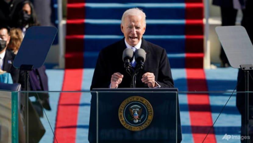 'Democracy has prevailed': Biden in first speech as US president