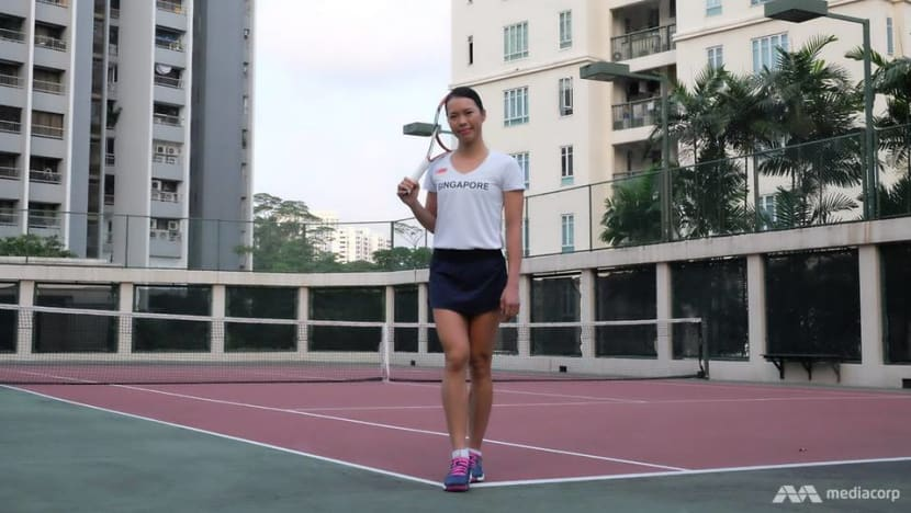 From less than S$2 in the bank to breaking into the big league of tennis, Sarah Pang chases a sporting dream