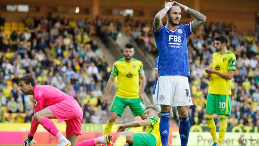 Football: Leicester condemn Norwich to third straight loss