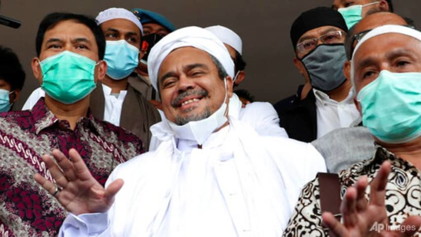 Indonesia bans Rizieq Shihab's hardline Islamic Defenders Front group