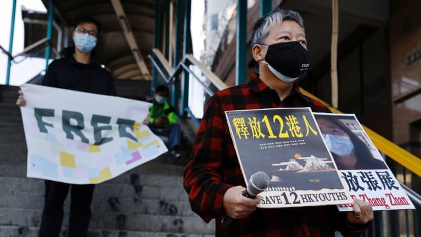 Chinese court hears case of activists alleged to have fled Hong Kong for Taiwan amid protests