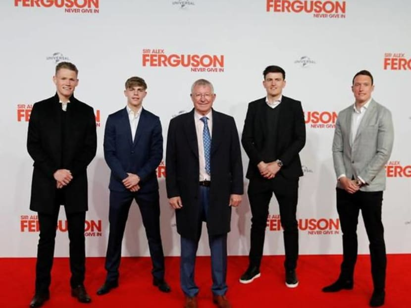"""United's Ferguson looks back on life and career in """"Never Give In"""""""