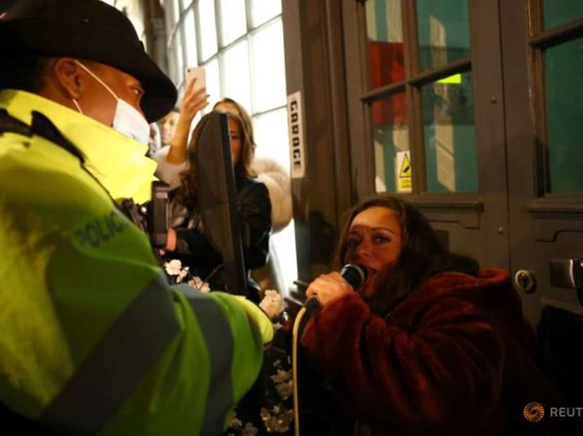 Last gasp: Londoners party on eve of tougher rules