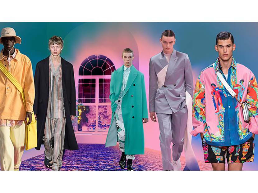 Boys will be boys: Menswear returns to an age of innocence