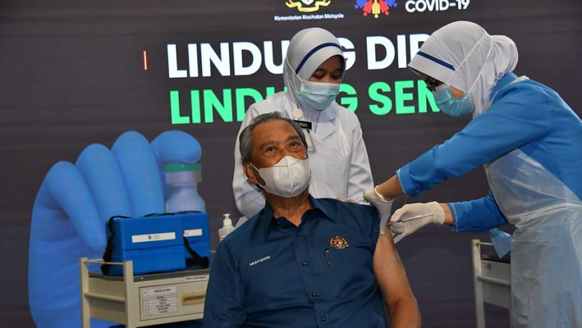 Malaysian PM Muhyiddin receives COVID-19 jab as vaccine roll-out begins