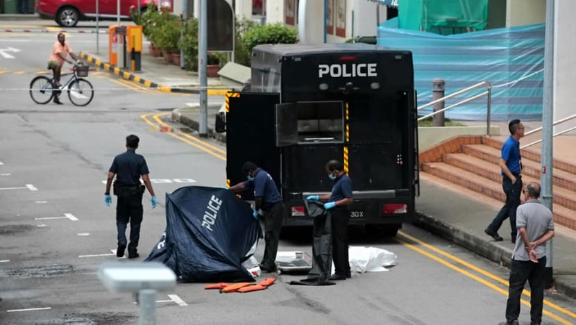 Man found dead at foot of HDB block in Little India, mother's body found in flat