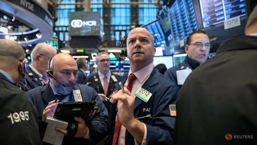 Wall Street ends mixed as Trump offers hope on trade