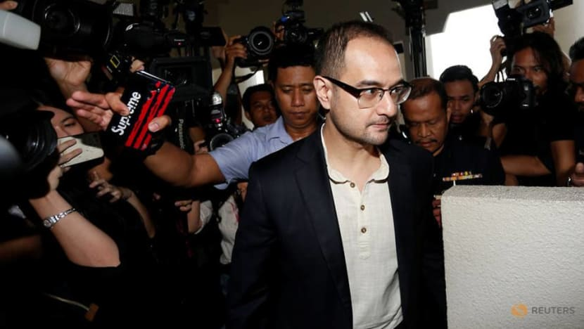 Film producer stepson of Malaysian ex-PM Najib charged with money laundering