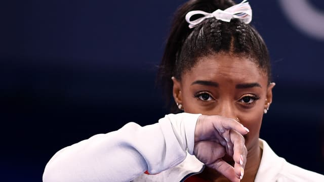 拜尔斯退出体操女团决赛  美国憾负俄罗斯奥委会代表队