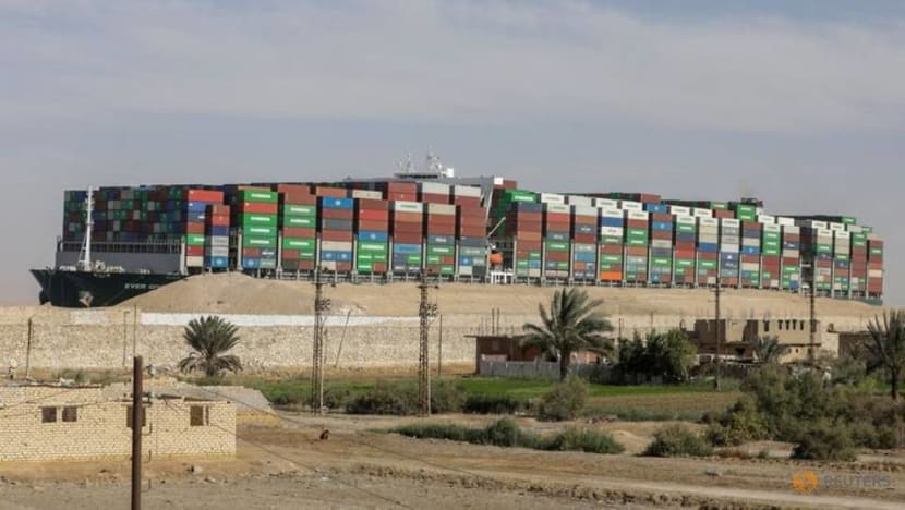Egypt seeks settlement out of court for Suez Canal blockage