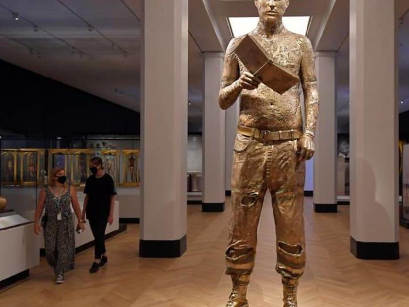 Humanity versus disease showcased as London's Science Museum reopens doors