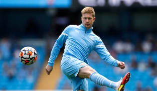 Football: Man City's Guardiola says De Bruyne needs time to hit top gear