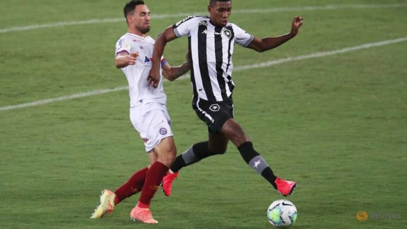 Bahia beat Botafogo to move out of relegation zone