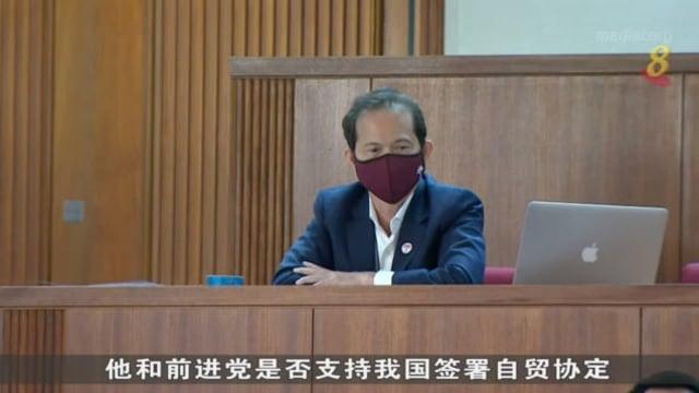 尚穆根针对梁文辉动议内容要求说明 两人交锋一个多小时