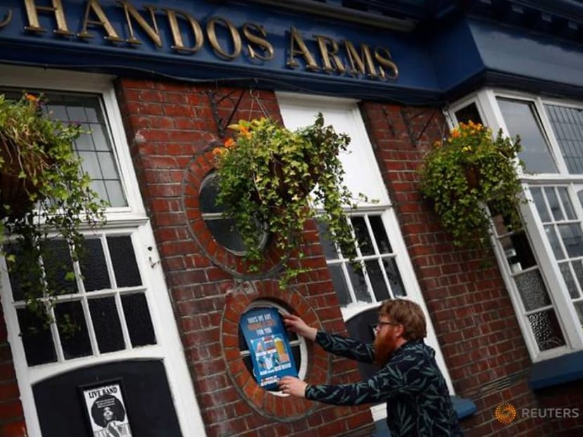 Cheers and fears as England's pubs prepare for 'Super Saturday' reopening