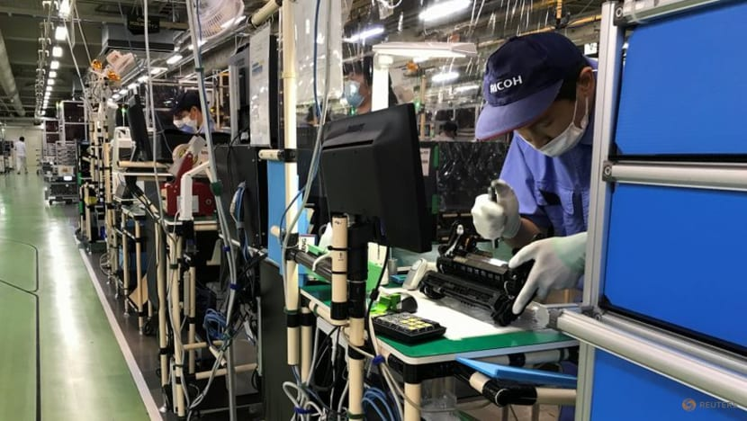 Japan's July factory output to fall as Delta variant spreads in Asia - Reuters poll