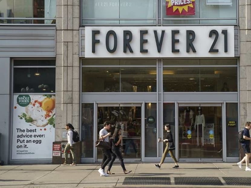 Forever 21 files for bankruptcy, no plans to close Singapore store