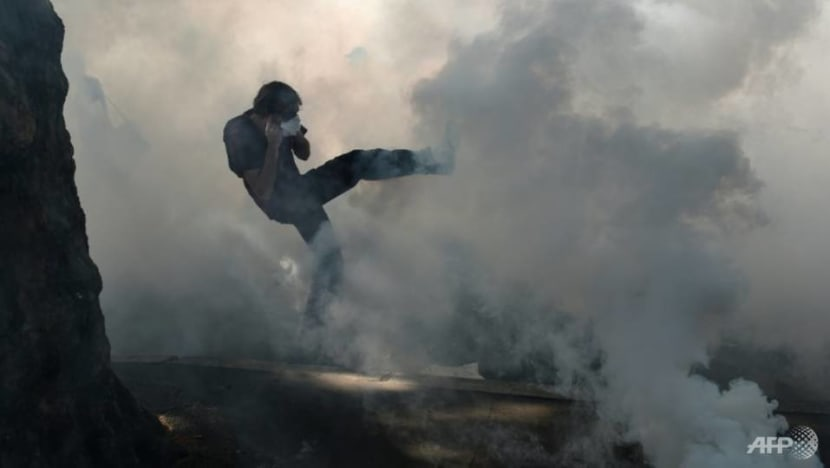 China warns Hong Kong protesters: 'Those who play with fire will perish by it'