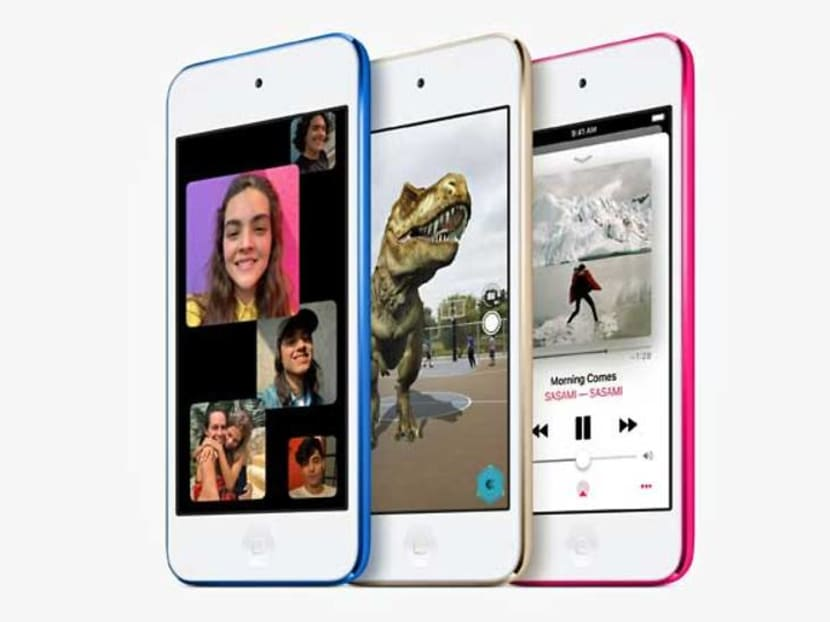 Apple unveils first new iPod model in four years