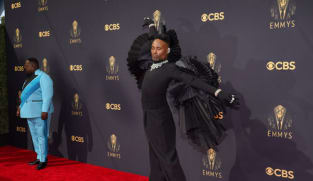 Black wings and a lot of colour: Who wore what at the Emmy Awards 2021