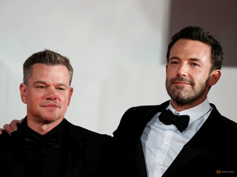 For Ben Affleck and Matt Damon, working together is a lot of fun