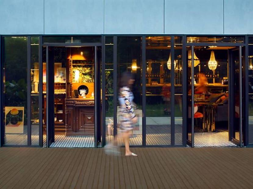 A serving of luxury Thai condo or immersive theatre to go with your main course