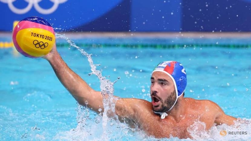 Olympics-Water polo-Italy and Greece seal quarter-final berths