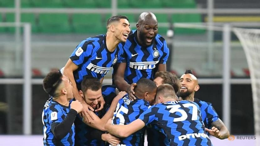 Football: Eriksen earns Inter last-gasp Coppa win over Milan as Ibrahimovic sees red