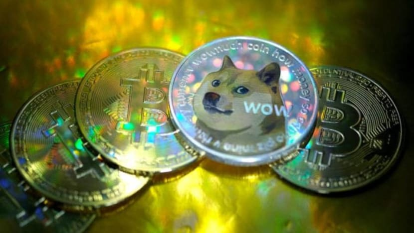 Dogecoin has its day, as cryptocurrency fans push it up