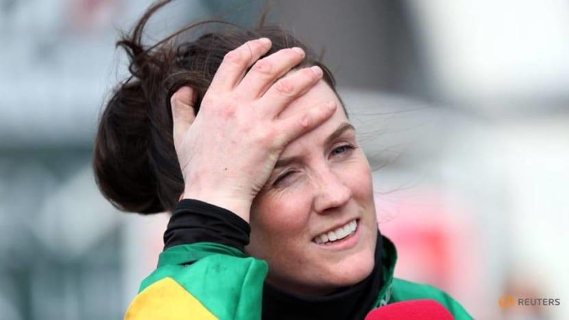 Horse racing-Grand National winning jockey Blackmore has surgery after fall