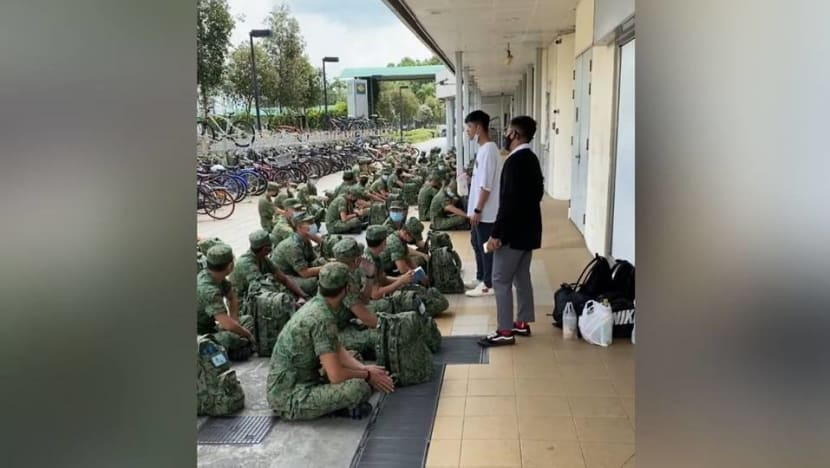 SAF commander to be disciplined after addressing recruits in public with mask tucked under chin