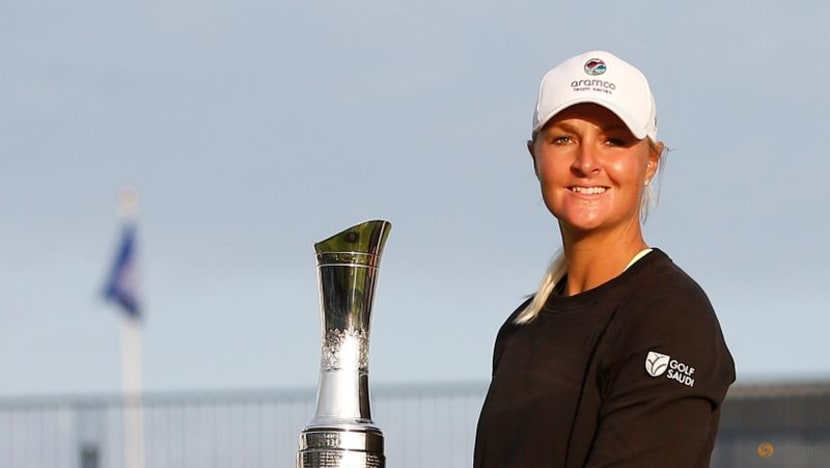 Golf: Nordqvist stays calm in thrilling finale to win women's Open