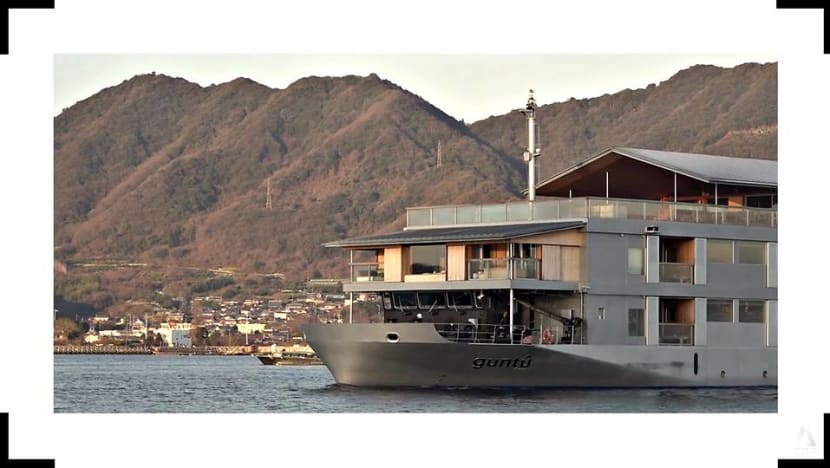 In Japan, a floating ryokan that lets guests enjoy stunning views and island-hop