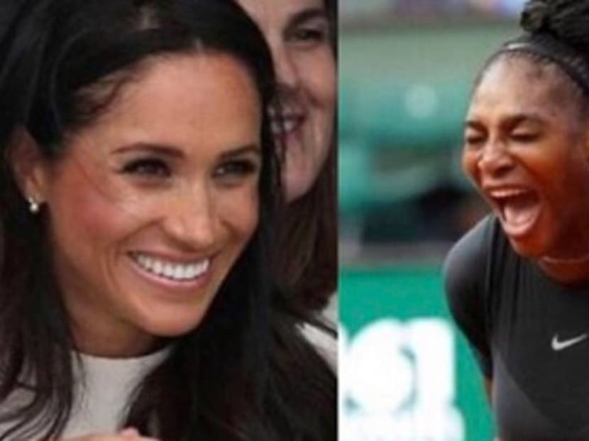 """Best friends forever: Serena Williams has been """"relying on"""" Duchess Meghan Markle"""