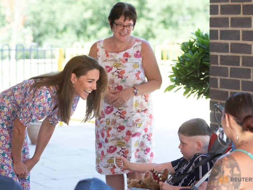 Prince William visits COVID-19 scientists, Kate visits children's hospice