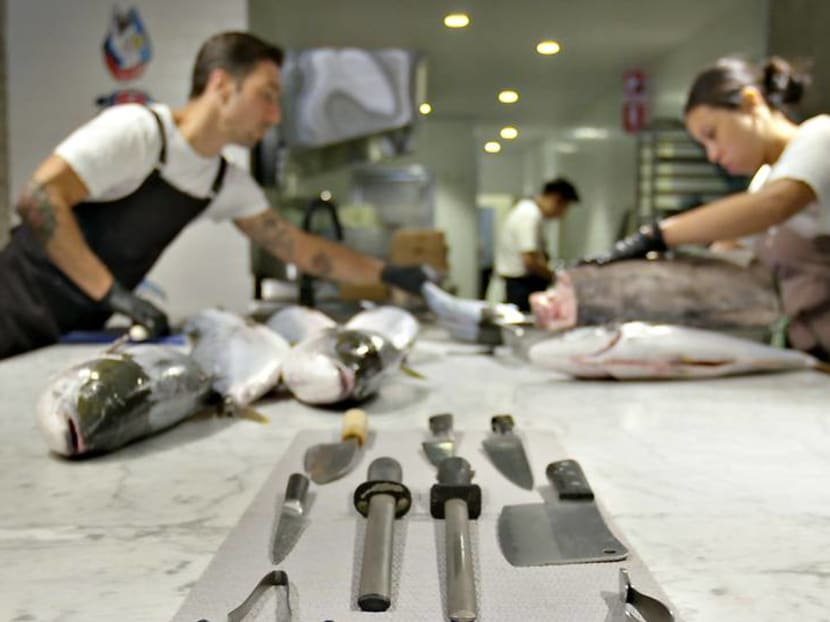 Fish liver on toast and swordfish bacon: Dining in the 'fish eatery' of Sydney
