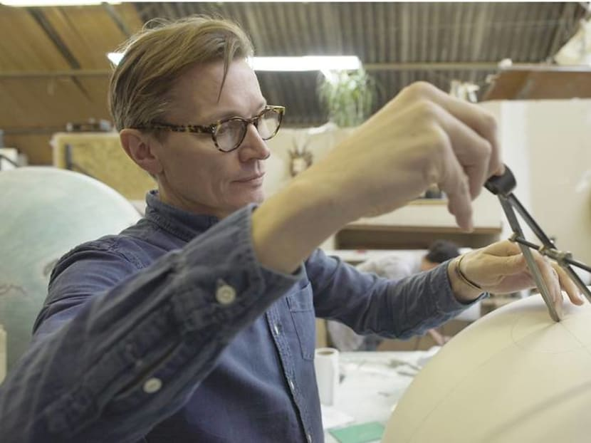 Reviving the lost art of bespoke globe-making with patience and determination