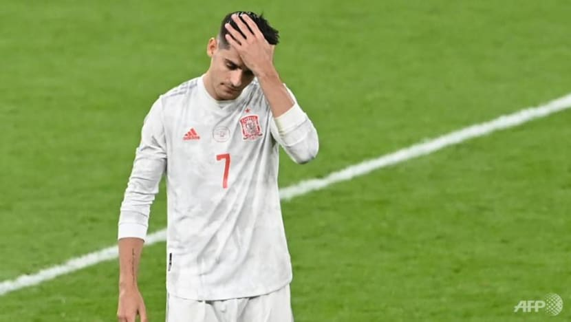 Football: Much-maligned Morata's tournament ends in disappointment