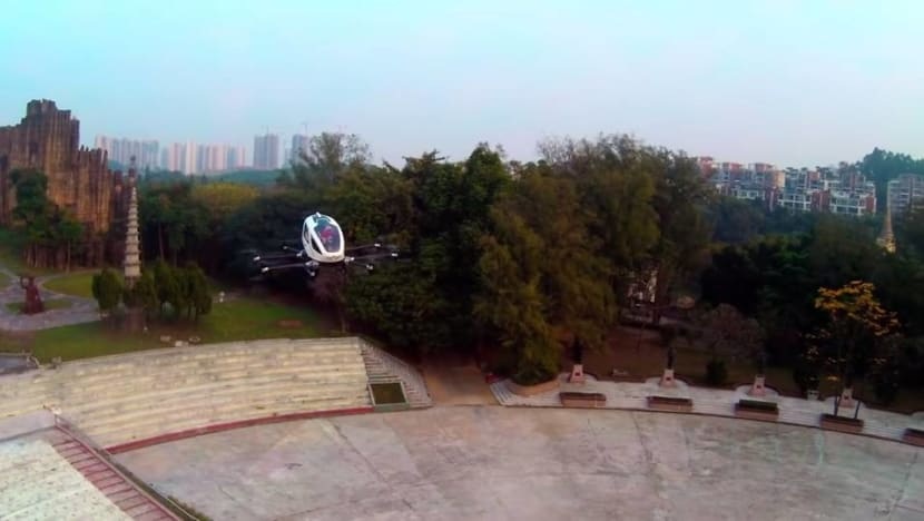 Chinese drone maker EHang plans US IPO: Sources