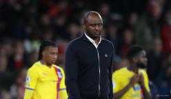 Vieira frustrated after Palace throw away win